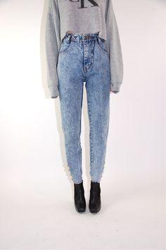 0bffe16b475 i want acid wash-high waisted jeans... or that color jaja Acid
