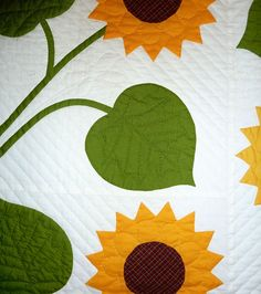 Come Quilt (Sue Garman) Sunflower Quilts, Tobacco Basket, Small Quilts, Applique Quilts, Patches, Kids Rugs, Display, Projects, Home Decor