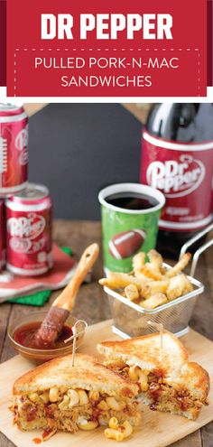 The savory-meets-sweet flavor combination is one we will always cheer for. For even more things to root for this football season, check out this recipe for Dr Pepper® Pulled Pork-n-Mac and the Dr Pepper Dollar General rewards program! This comfort food dish idea is sure to be a hit on your game day menu thanks to the easy prep and bold flavors. Score the ingredients for these sandwiches and all the essentials you need for your football party without breaking your budget at Dollar General.