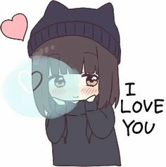 Manga Girl, Anime Girl Neko, Anime Girl Cute, Cute Anime Couples, Anime Art Girl, Loli Kawaii, Kawaii Chibi, Cute Chibi, Anime Meme