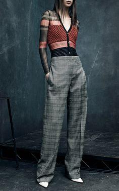 Smocking Cardigan by Alexander Wang for Preorder on Moda Operandi