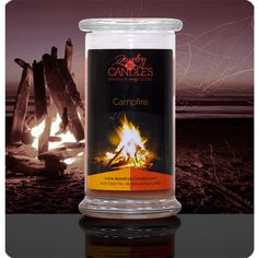 Campfire- Available in candles and tarts