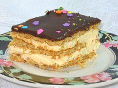 Coleen's Recipes: NO-BAKE ECLAIR CAKE