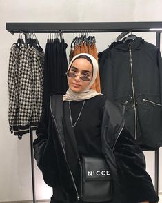 Modest Fashion Hijab, Modern Hijab Fashion, Street Hijab Fashion, Modesty Fashion, Muslim Fashion, Aesthetic Fashion, Aesthetic Clothes, Edgy Outfits, Fashion Outfits