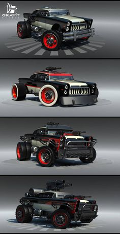 Battle Carzzz - Oldtimer by on DeviantArt Futuristic Cars, Car Drawings, Modified Cars, Future Car, Armored Vehicles, Amazing Cars, Hot Cars, Exotic Cars, Bugatti