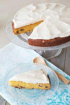 receta de pastel de zanahoria y crema de queso
