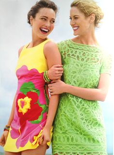 Lilly Pulitzer Summer 2012 Catalog, Lovely lime lace!