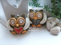 Clay Ornaments, Craft Projects, Pottery, Crafts, Tinkerbell, Paper Mache, Fimo, Round Round, Animals