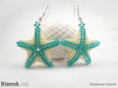 A round-up of starfish tutorials by Beading Gem. Enough to keep anyone busy a while....#Seed #Bead #Tutorials