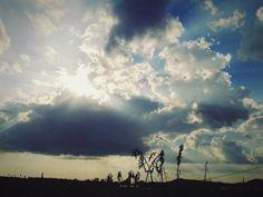 Lovely blue sky!