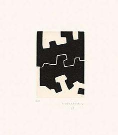 Eduardo Chillida (1924-2002), Ulertu, 1973. Etching and aquatint. Plate size: 13.8cm H x 9.8cm W. Sheet size: 45cm H x 35.5cm W. Edition of about 64 copies.