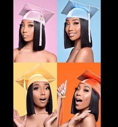 Graduation Look, College Graduation Photos, College Graduation Pictures, Graduation Picture Poses, Graduation Photoshoot, Grad Pics, Grad Pictures, Graduation Ideas, Graduation Portraits