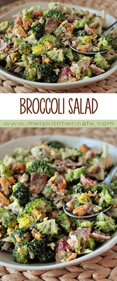 This Broccoli Salad is a classic side that everyone needs in their repertoire.