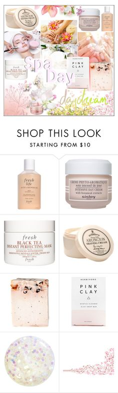 """""""SPA Treatment!"""" by jessinerio4l ❤ liked on Polyvore featuring beauty, Fresh, Sisley Paris, Herbivore and Bliss"""