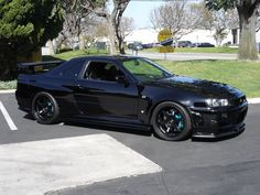 Nissan Skyline GTR Black Sky | LIKE US ON FACEBOOK https://www.facebook.com/theiconicimports