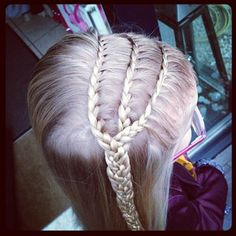 3 lace braids braided together