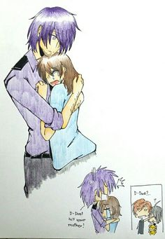 Request- hold me by karinchan97 on DeviantArt