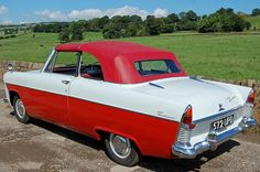 1961 Ford Zodiac Mark II convertible