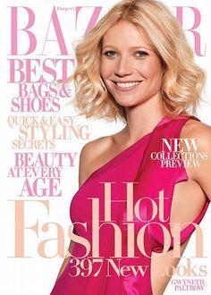 Gwyneth Paltrow - Harpers Bazaar Magazine [United States] (July 2008)