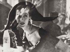 The Day-Length Dinner dress , Le Ritz 1949 byLillian Bassman*