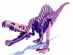 Spinosaurus Dinosaur (plasma) - Dinosaurs (Plasma) | MakeCNC.com