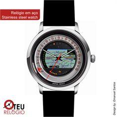 Mostrar detalhes para Relógio de pulso OTR PAINEL 015