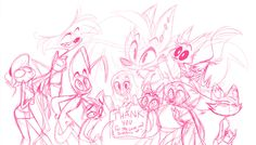 Sketch of Vivziepop's thank you picture #Vivzmind #Zoophobia