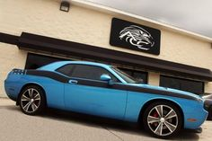 2009 Challenger - Blue – American Car Craft