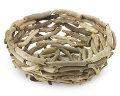 Real Driftwood Bowl #WilliamsSonoma $49