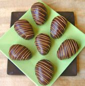 Chocolate & Peanut butter easter eggs