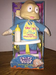 Rugrats in Paris Movie Bounce Babble DIL Doll Nickelodeon Mattel 2000 | eBay