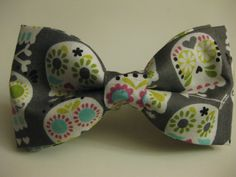 Sugar Skulls-cutest thing ever. A man gets brownie points if he rocks this.
