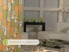 Manualidades y Artesanías | Separador de ambientes | Utilisima.com