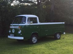 Classic VW Volkswagen 1974 Bay Window Single Cab Pickup Camper RHD