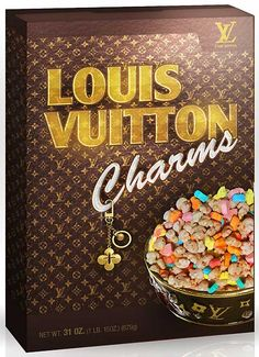 """Louis Vuitton Charms"" Baha, I love it, they have a few other spoofs too."