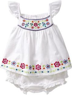 Embroidered Top & Bloomer Sets for Baby   Old Navy