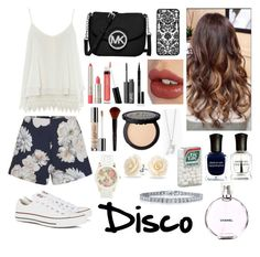 """Disco"" by viretn ❤ liked on Polyvore featuring Alice & You, Finders Keepers, Converse, MICHAEL Michael Kors, Ilia, Charlotte Tilbury, Bare Escentuals, NARS Cosmetics, Elizabeth Arden and Deborah Lippmann"