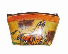 Ručne-maľované-púzdro-s-motívom-Motýľa Coin Purse, Purses, Wallet, Bags, Handbags, Handbags, Purse, Diy Wallet, Coin Purses