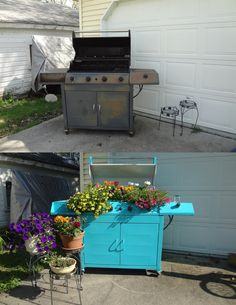 my repurposed gas grill