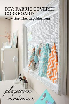 Check out this easy DIY and fabulous playroom makeover www.starfishcottageblog.com