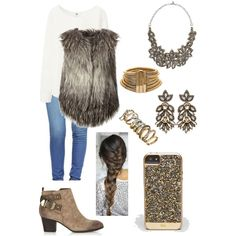 A fashion look from November 2014 featuring Uniqlo blouses, Diesel vests and True Religion jeans. Browse and shop related looks.