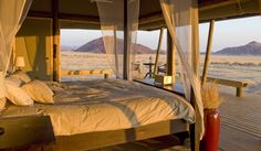 Photographic safari, team building photo safari and wildlife photography course accommodation Wolwedans Boulders Camp, Namibia. Luxury Tents, Luxury Camping, Mark Rothko, Tanzania, Timber Cabin, Safari Holidays, Hotel Room Design, Reserva Natural, Safari Adventure