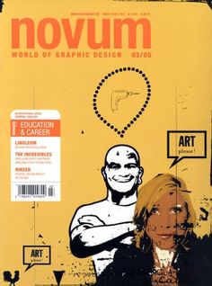 Novum : World of Graphic Design. Novum is a German magazine covering the world of graphic design. It reports on industry news, technology, trends, book reviews, job opportunities, and more.