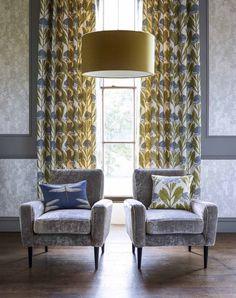 Palmetto Collection by Harlequin. #interiordesign #harlequin #palmetto #fabric #wallpaper #malcolmfabrics