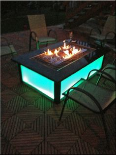 70 ideas patio diy easy fire pits for 2019 Fire Pit Table Top, Diy Fire Pit, Fire Pit Backyard, Backyard Patio, Fire Pits, Backyard Seating, Diy Propane Fire Pit, Yard Landscaping, Patio Diy
