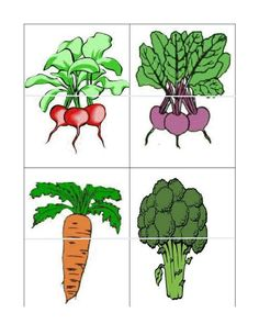 tops and bottoms matching game Preschool Letters, Preschool Themes, Montessori Activities, Preschool Activities, Fruit And Veg, Fruits And Vegetables, Healthy Prepared Meals, Vegetable Crafts, Preschool Garden