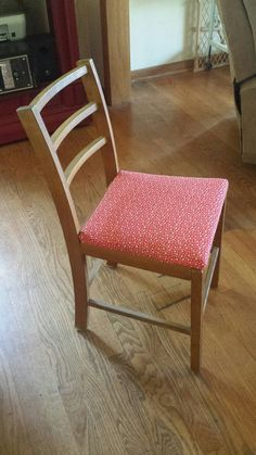 Upholstered Old Chair