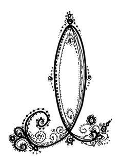 Fancy Alphabet | Crafts-Lettering/Fonts | Pinterest ...