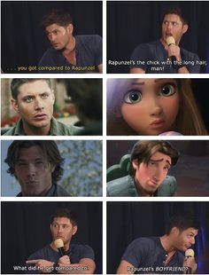 supernatural meets tangled... my life is made