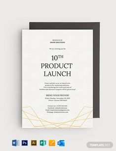 Formal Business Invitation Template